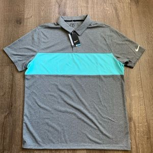 Nike Dri Fit Golf Polo sz XL NWT